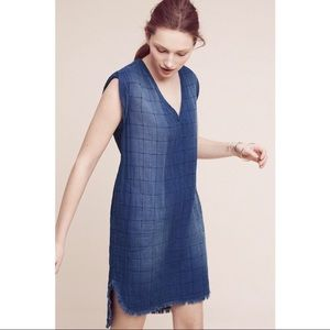 Cloth & Stone | Frayed Tunic Denim Dress